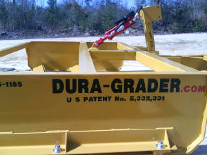 Tractor Implements: Road-Boss-Grader